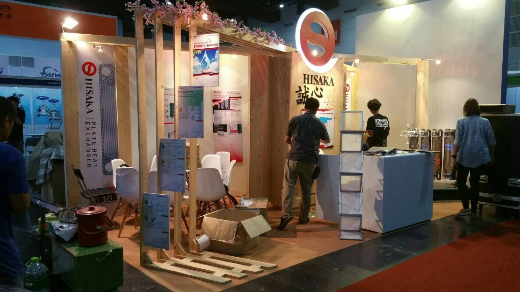 Design & Production Booth Hisaka